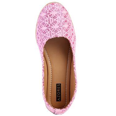 Azores Womens Pink Ballerina -Azf_11Pi