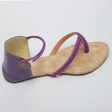 Azores Womens Purple Sandals -Azf_Pc