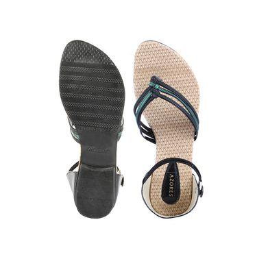 Azores Womens Green Sandals -Azf_Pg