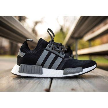 Adidas Mesh Black & Grey Sports Shoes -os02