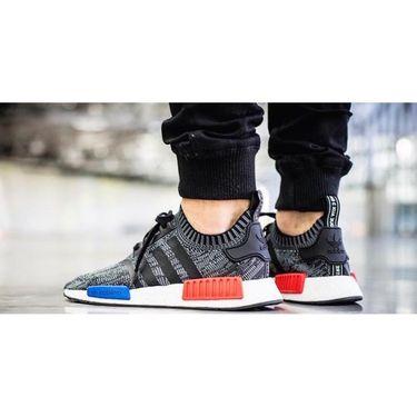 Adidas Mesh Black & Grey Sports Shoes -os03