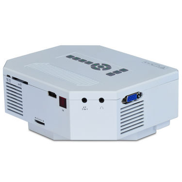 Buy advanced 150 lumens led cinema projector online at for Mp150 projector