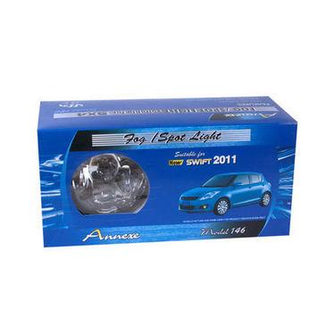 Set of 2 Pcs Annexe Type-3 Fog Light Lamp For Maruti Suzuki Swift