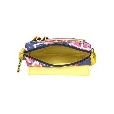 Be For Bag Canvas Clutch Sling Blue -Aquata