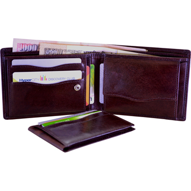 Arpera Leather Wallet for Men - Brown_C11431-2