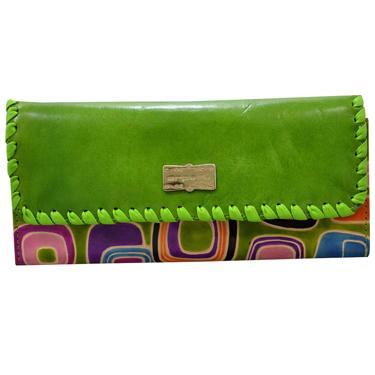 Arpera Leather Wallet for Women - Green_arp-202-6B