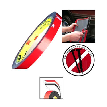 Automotive Attachment Tape For Stronger Bonding For All Purpose Bike Car 3M