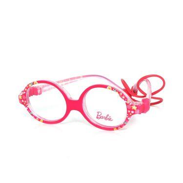 Barbie Oval Shape Non Metal Eyeglass For Kids_1015160 - Pink