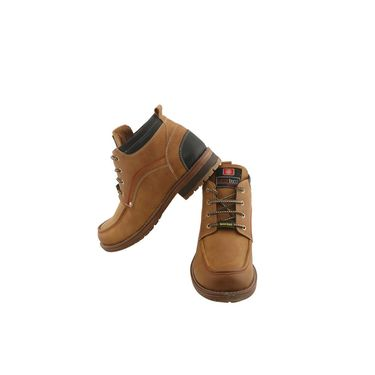 PU  Tan  Boot -ntb11