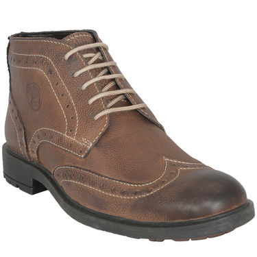 Bacca Bucci Genuine Leather Brown Boots -Bbma2114C