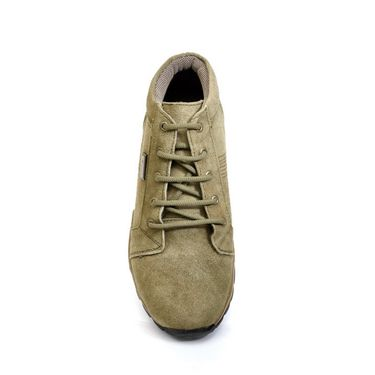 Bacca Bucci Suede Leather Olive Casual Shoes -Bbmb3036G