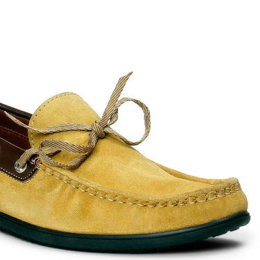 Bacca Bucci Suede Leather Tan Loafers -Bbmc4066D