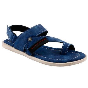 Bacca Bucci Leather  Sandal  Bbme6006B -Blue