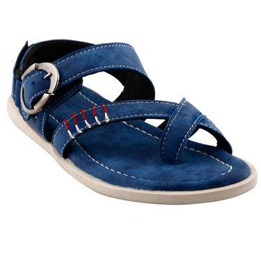 Bacca Bucci Leather  Sandal  Bbme6008B -blue