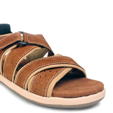 Bacca Bucci Suede Leather Brown Sandals -Bbme6031C