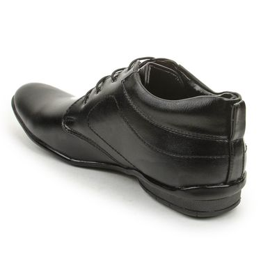 Bacca Bucci PU Black Formal Shoes -Bbmf7003A