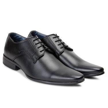 Bacca Bucci PU Black Formal Shoes -Bbmf7029A