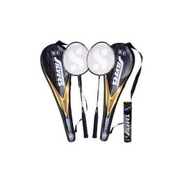 Silver's Pack Of 2 Blacken Badminton Combo - Multicolor