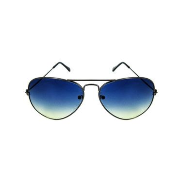 Unisex Aviator Sunglasses_Bes010 - Blue