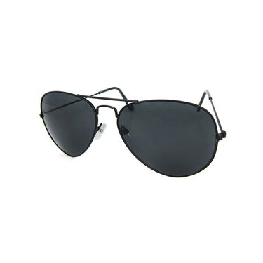 Unisex Aviator Sunglasses_Bes022 - Smoke