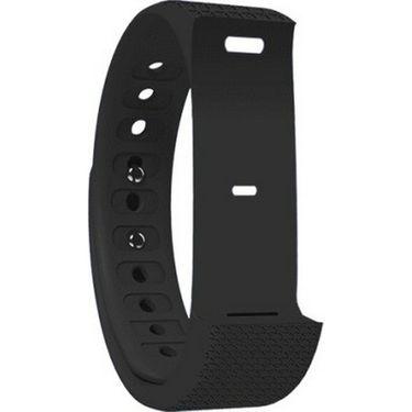 Shaman Smart Fitness Band Wrist Strap - Onyx Black