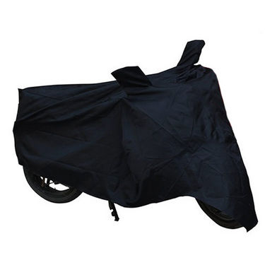 Bike Body Cover for Hero HF Deluxe - Black