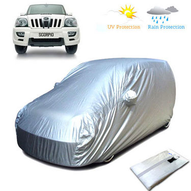 Body Cover for Mahindra Scorpio - Silver