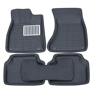 Branded 3D Car Bucket Tray Footmat For Swift Dzire - Black
