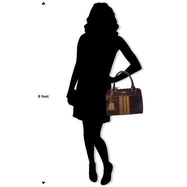 Arpera Genuine Leather Handbag C11448-2 -Black