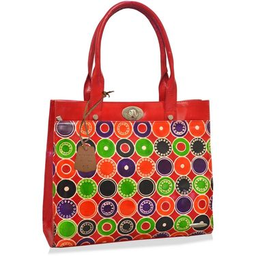 Arpera Red Ladies Handbag Ssa21