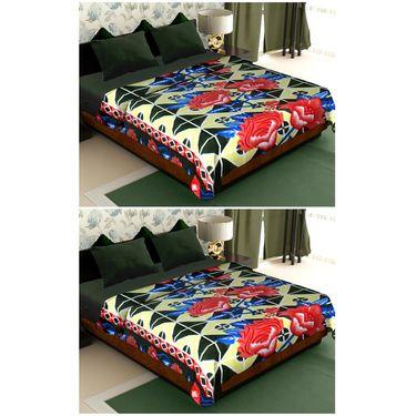 Storyathome Set of 2 Designer Printed Double Fleece Blanket-CA1211-CA1211