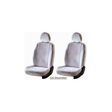 Car Seat Cover For Hyundai Eon - White - CAR_1SC1WHT221