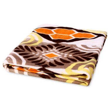 Pack of 5 Designer Printed Double Fleece Blanket-CA_1209