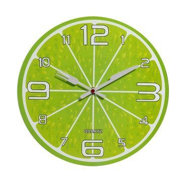 Charming Green Shade Analog Wall Clock