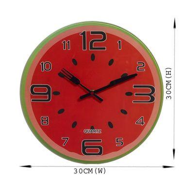 Water Melon Style Cute Analog Wall Clock