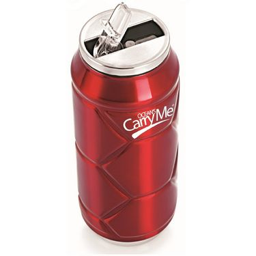 CarryMe Stylo Sports Thermo Can 400 ml - Red