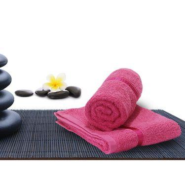 Combo of 100% Cotton Double Bedsheet, Blanket, Curtain Set & Hand Towel Set-CN_1268