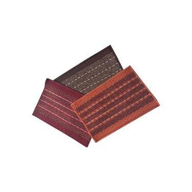 Valtellina Door Mats - (Slip resistant) Combo of 3-CO_DM3_14