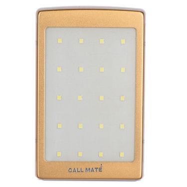 Callmate 10000 mAh Solar Power Bank with Emergency Lights