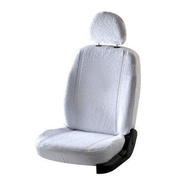 Car Seat Cover For Toyota Innova - White