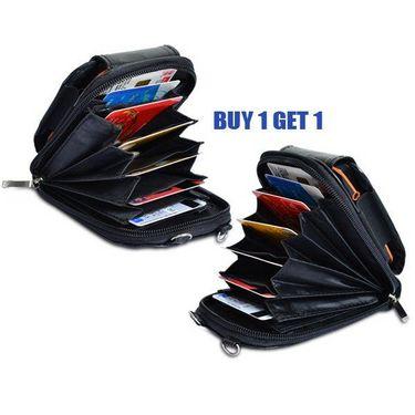Kawachi Multi-Purpose Mobile Phone Wallet - Black