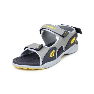 Columbus PU Grey Yellow Floater -Ab-933