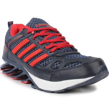 Columbus Navy & Red Sports Shoe C04