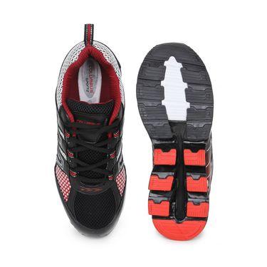 Columbus Black & Red Sports Shoe C06
