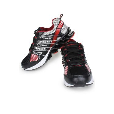 Columbus Black & Red Sports Shoe C06