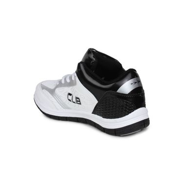 Columbus White & Black Sports Shoe C24
