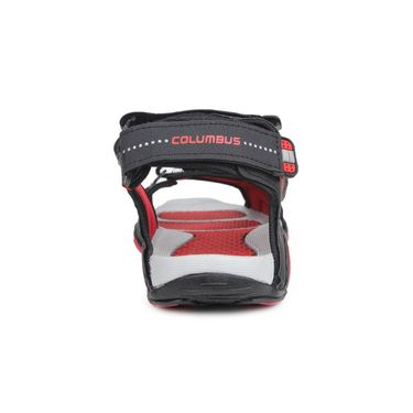 Columbus PU Grey Black & Red Floater -S-102