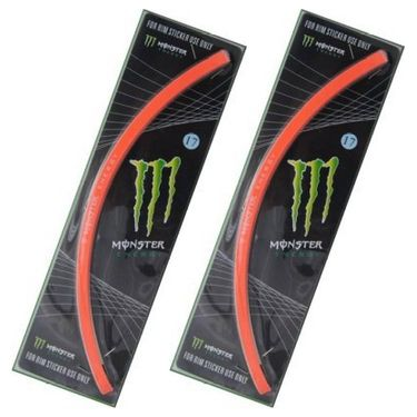 Set of 2 AutoStark Motorcycle Rim Sticker -2