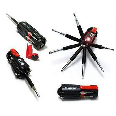 Combo of Multipurpose 36Pcs Screwdriver Set with in-build Torch