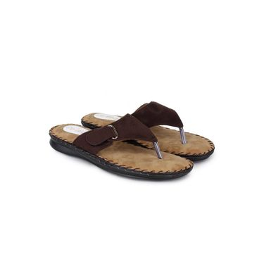 Do Bhai Suede Flats Comfort-G64-Brown